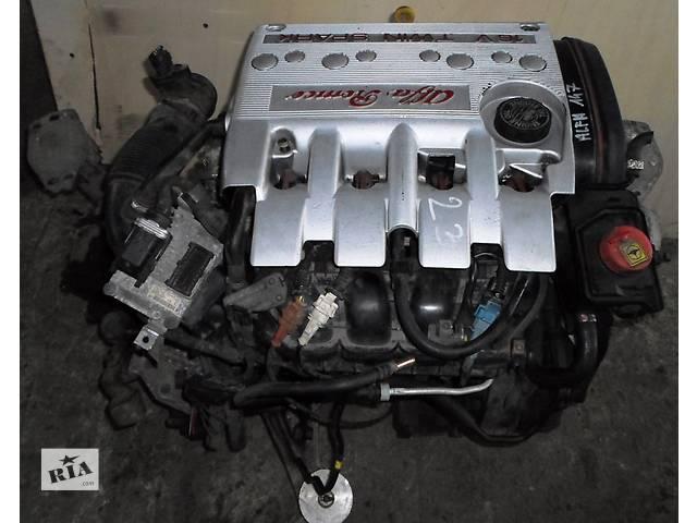 Б/у Нависне двигуна 1,6 16V Alfa Romeo Альфа Ромео 147 2003- объявление о продаже  в Рожище