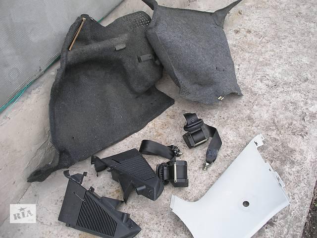 Б/у обшивка багажника Skoda Fabia Хэтчбек,универсал 00-07- объявление о продаже  в Запорожье
