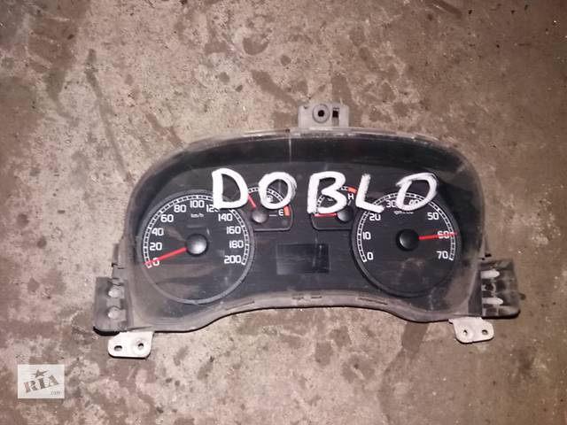 купить бу Б/у панель приборов для легкового авто Fiat Doblo в Ковеле