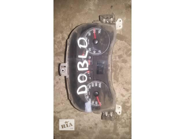 продам Б/у панель приборов/спидометр/тахограф/топограф для легкового авто Fiat Doblo бу в Ковеле