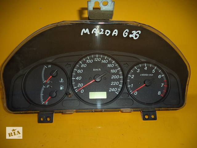 Б/у панель приборов/спидометр/тахограф/топограф для легкового авто Mazda 626 (GF)(97-02) Bensin- объявление о продаже  в Луцке