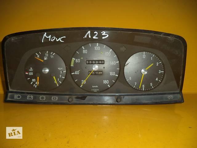 купить бу Б/у панель приборов/спидометр/тахограф/топограф для легкового авто Mercedes 123 (76-84) в Луцке