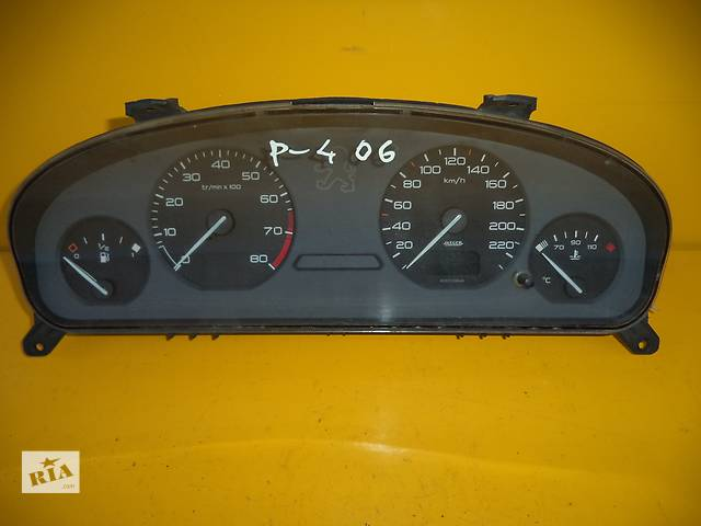 купить бу Б/у панель приборов/спидометр/тахограф/топограф для легкового авто Peugeot 406 (95-04) Bensin в Луцке