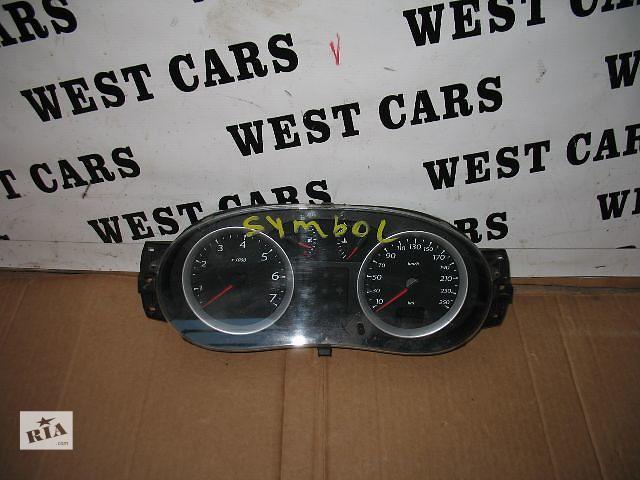 купить бу Б/у панель приборов/спидометр/тахограф/топограф для легкового авто Renault Symbol 2009 в Луцке