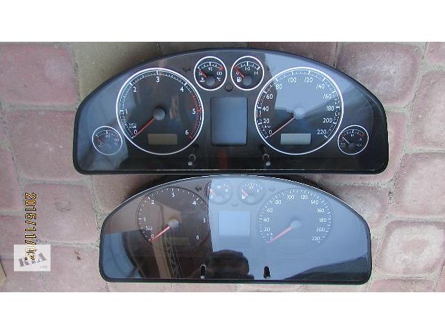 купить бу Б/у панель приборов/спидометр/тахограф/топограф для легкового авто Volkswagen Multivan 2008 в Хусте