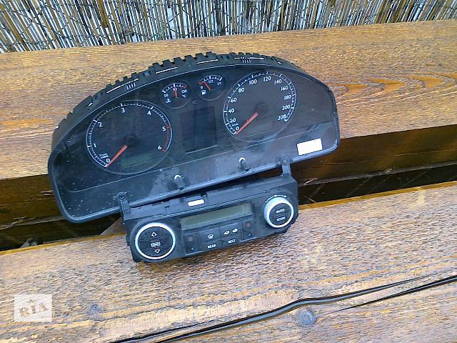 купить бу Б/у панель приборов/спидометр/тахограф/топограф для легкового авто Volkswagen T5 (Transporter) 2008 в Хусте