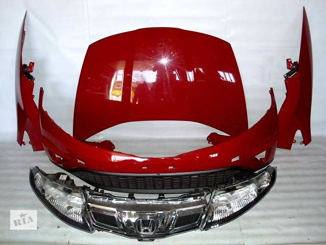 бу бампер фара капот панель крыло решетка радиатор дверь крышка фонарь безопасность стекло мотор коробка  Honda Civic 5D в Киеве