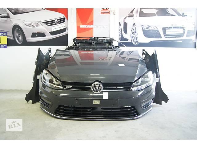 купить бу Б/у перед комплектный капот бампер крыло телевизор фары  VW Volkswagen Golf VII разные версии в Харькове