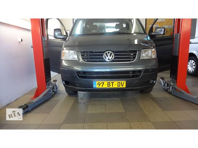 купить бу Б/у передок для легкового авто Volkswagen T5 с 2003-2009г.Капот,бампер,решетка,телевизор,крыло,зеркала,фары в Киеве