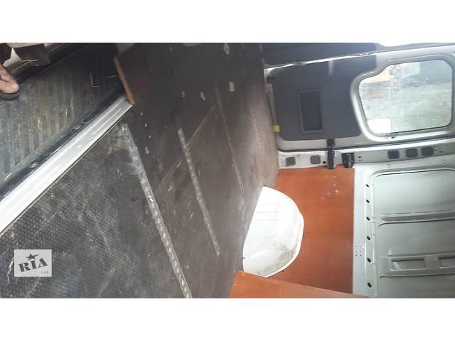 бу Б/у Пол Підлога в буду багажника Volkswagen Crafter Фольксваген Крафтер 2006-2010 в Луцке