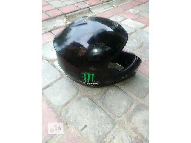 продам Б/у Продам кроссовый шлем бу в Львове