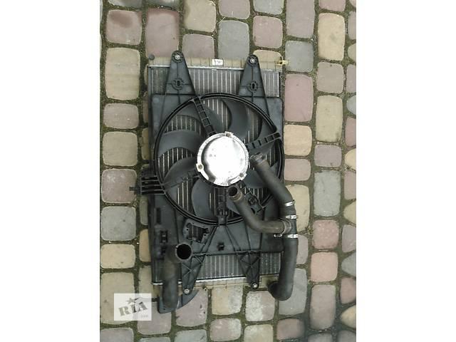 продам Б/у радіатор+диффузор для легкового авто Fiat Doblo 1,9 бу в Луцке