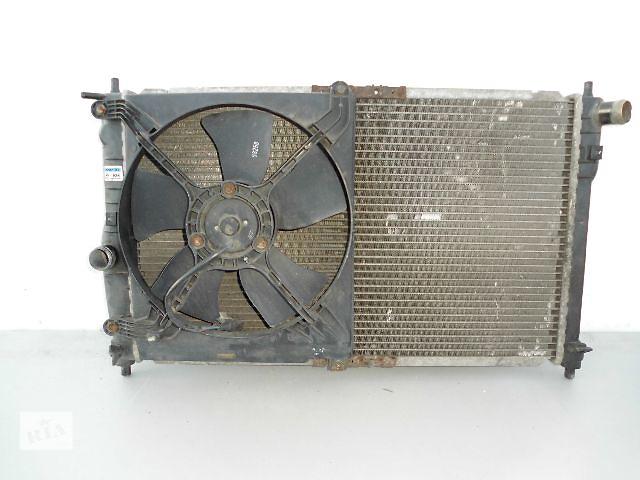 купить бу Б/у радиатор для легкового авто Daewoo Lanos 1.6 с вентилятором (63-41). в Буче (Киевской обл.)