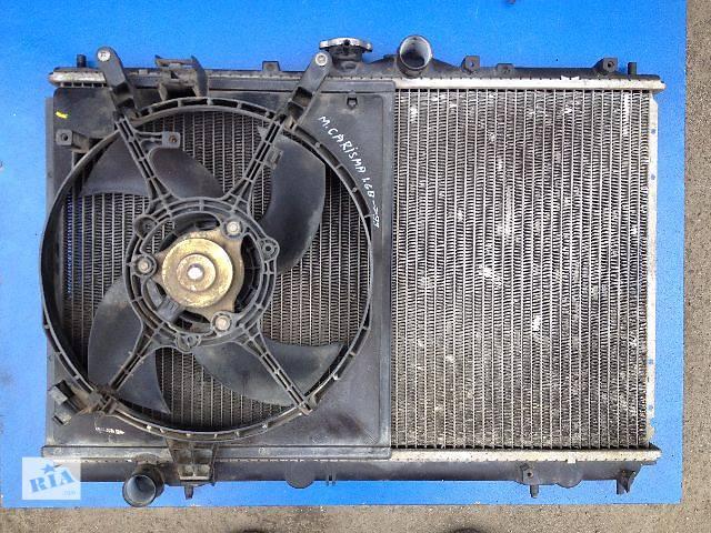 купить бу Б/у радиатор для легкового авто Mitsubishi Carisma 1.6 в Луцке