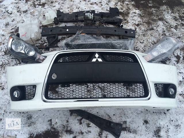 купить бу Б/у радиатор для легкового авто Mitsubishi Lancer X в Киеве