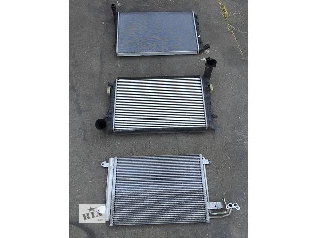 купить бу Б/у радиатор для легкового авто Volkswagen Caddy BLS в Луцке