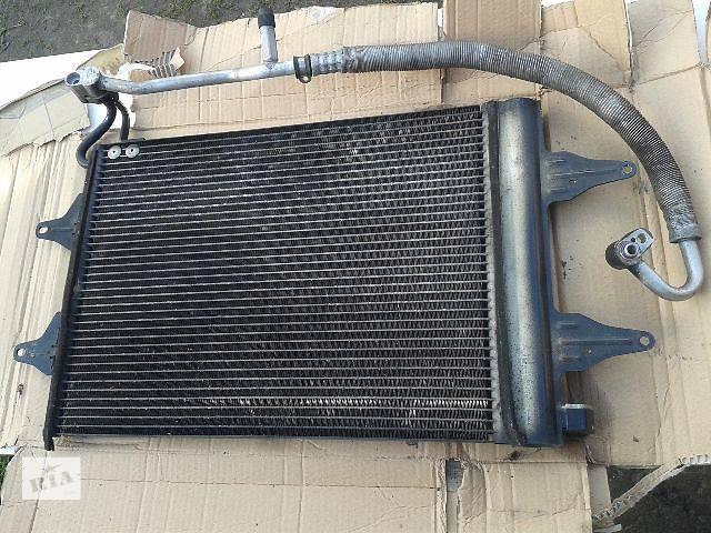 бу Б/у радиатор кондиционера для хэтчбека Volkswagen Polo в Львове