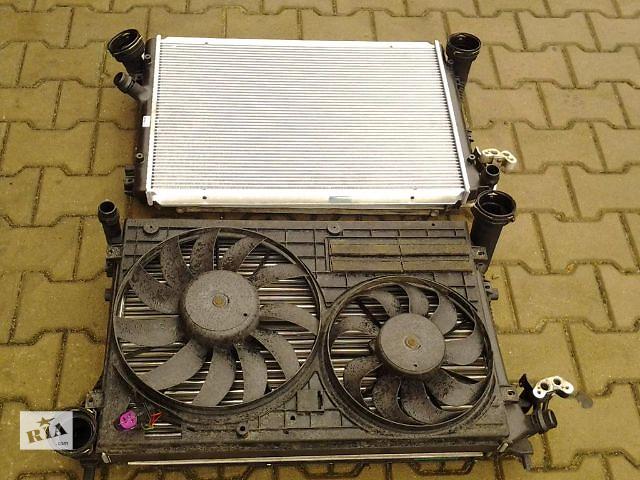 купить бу Б/у радиатор охлаждения кондиционера интеркуйлера Volkswagen Caddy 1,6TDI 1.9TDI 2.0SDI  2004-14 в Луцке