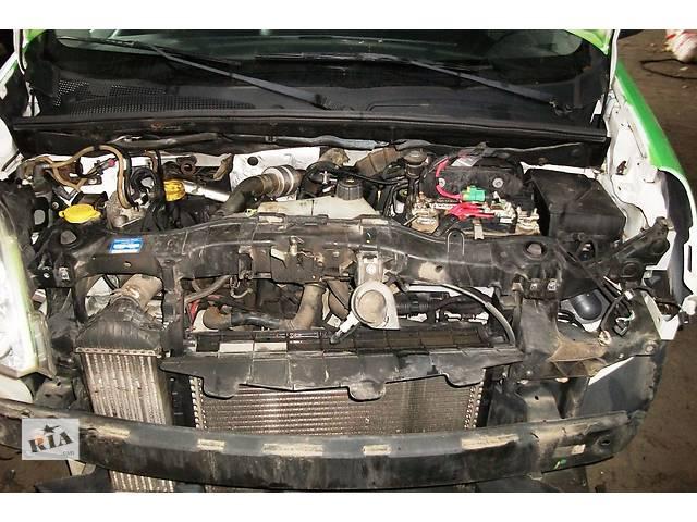 купить бу Б/у Радиатор осн., интеркуллера Renault Kangoo Кенго 1,5 DCI К9К 2008-2012 в Рожище
