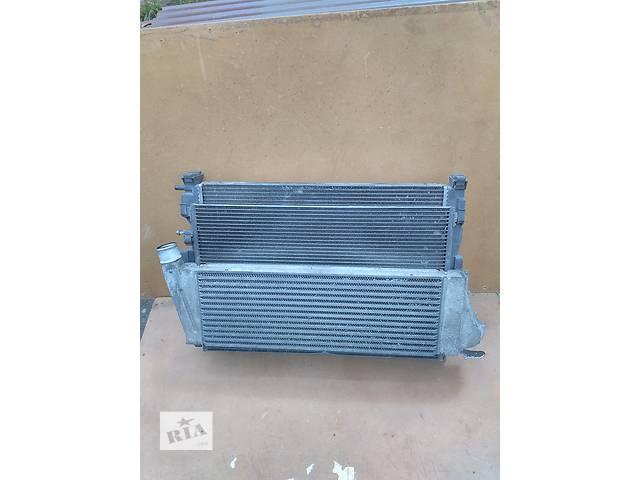 купить бу Б/у радиатор интеркуллера для минивена Renault Scenic в Львове