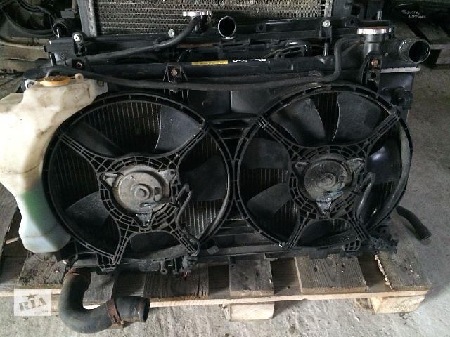 купить бу б/у Радиаторы с вентиляторома Subaru Forester 2005-2008 в Львове