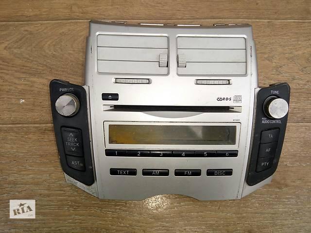 бу Б/у радио и аудиооборудование/динамики для хэтчбека Toyota Yaris 2008г в Николаеве