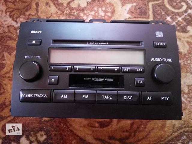 купить бу Б/у радио и аудиооборудование/динамики для кроссовера Toyota Land Cruiser Prado 120 в Харькове