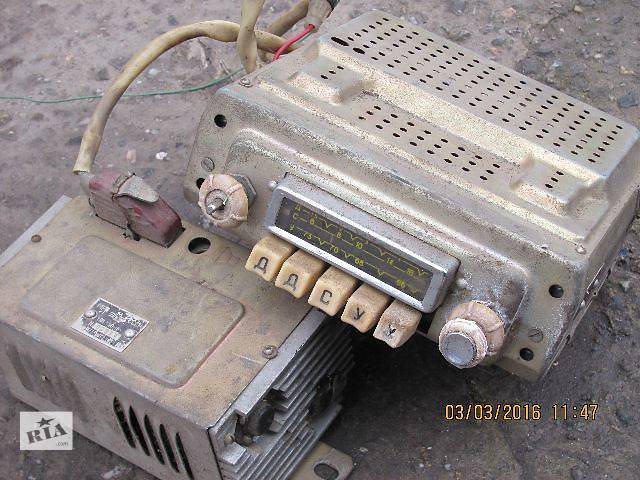 Б/у радио и аудиооборудование/динамики для седана ГАЗ 21- объявление о продаже  в Запорожье