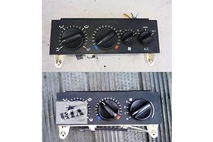 б/у Регулятор оборотов вентилятора печки Opel Movano груз.