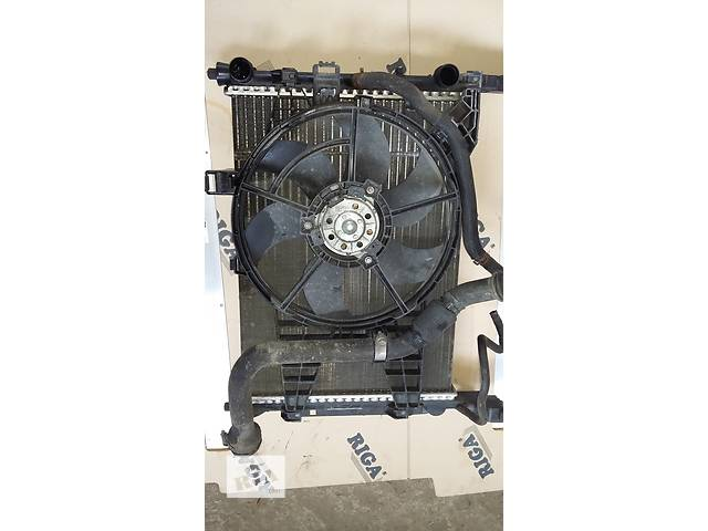 купить бу Б/у Регулятор оборотов вентилятора печки Renault Kangoo Кенго 1,5 DCI К9К B802, N764 2008-2012 в Рожище