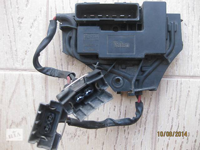 купить бу Б/у реле вентилятора радиатора блок вентилятора радіатора Vectra C Вектра С в Львове