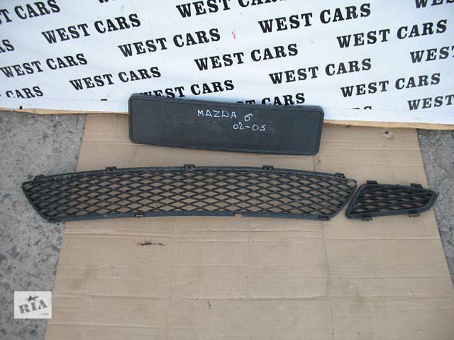 купить бу Б/у решётка бампера для легкового авто Mazda 6 2003 в Луцке