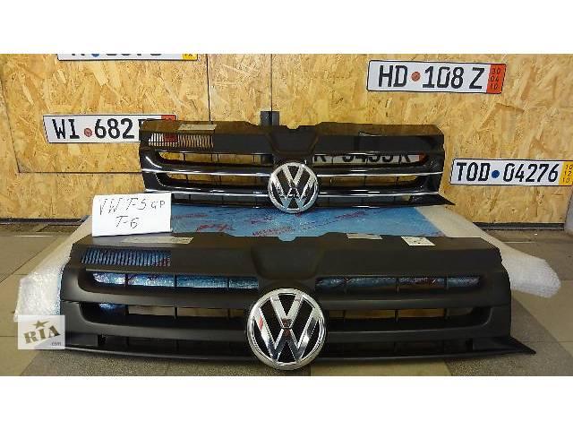 бу Решётка бампера Volkswagen T5 GP T6, MULTIVAN с 2010-2015г. в Киеве