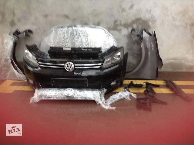 продам Б/у решётка бампера для легкового авто Volkswagen Touran бу в Львове