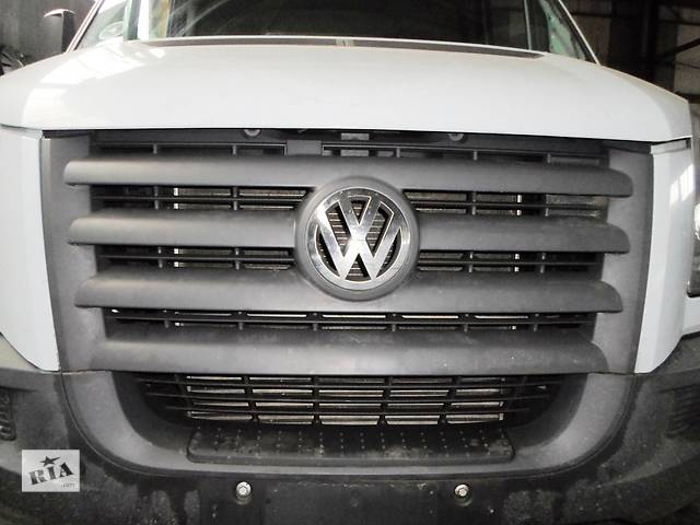 Б/у Решётка бампера Volkswagen Crafter Фольксваген Крафтер 2.5 TDI 2006-2010- объявление о продаже  в Луцке