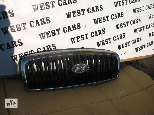 продам Б/у решётка радиатора для легкового авто Hyundai Sonata 2003 бу в Луцке