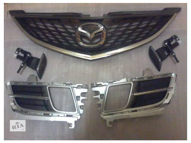 продам Б/у решётка радиатора для легкового авто Mazda 6 бу в Львове