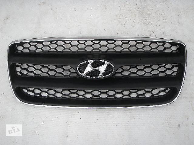 купить бу Б/у решётка радиатора Hyundai Santa FE в Киеве
