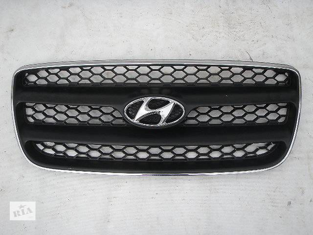 продам Б/у решётка радиатора Hyundai Santa FE бу в Киеве