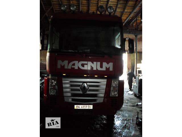 бу Б/у Решётка радиатора с ресничкой Рено Магнум 440 Евро 3 Renault Magnum в Рожище