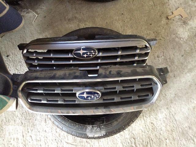 купить бу б/у Решётка радиатора Subaru Outback 2003-2006 в Львове