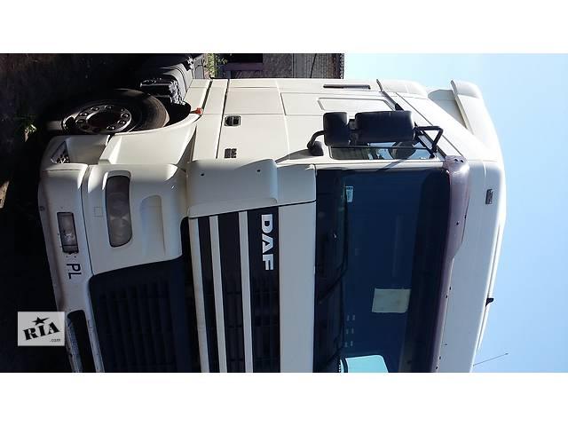 купить бу б/у Решітка радіатора Решётка радиатора ДАФ DAF XF95 380 Евро3 2003г в Рожище