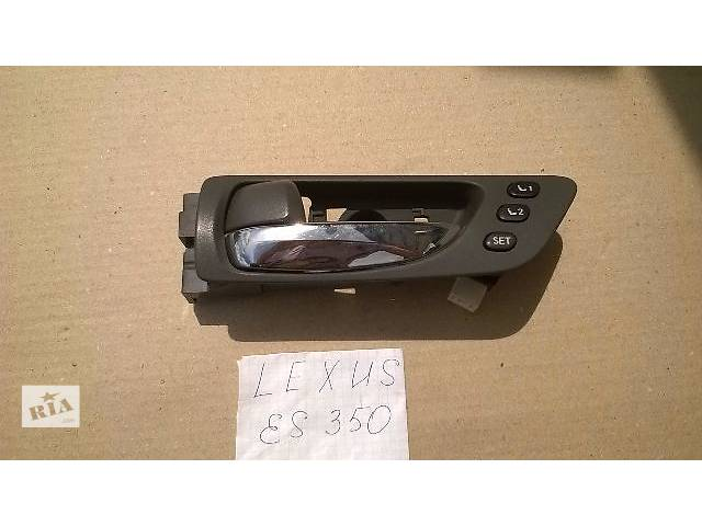 купить бу Б/у ручка двери внутренняя передняя правая для седана Lexus ES 350 2007г в Киеве