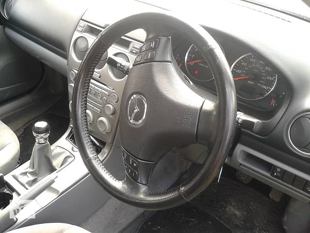 Б/у руль для хэтчбека Mazda 6 2002-2006- объявление о продаже  в Львове