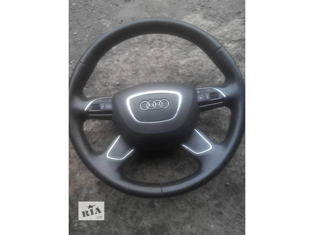 купить бу Б/у руль для легкового авто Audi A6 в Львове