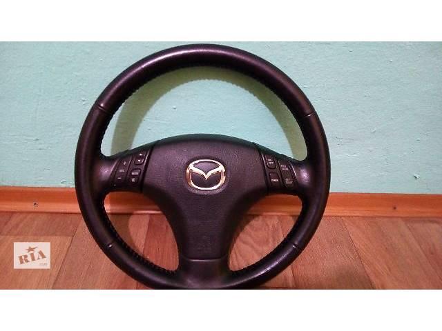 Б/у руль для седана Mazda 6- объявление о продаже  в Запорожье