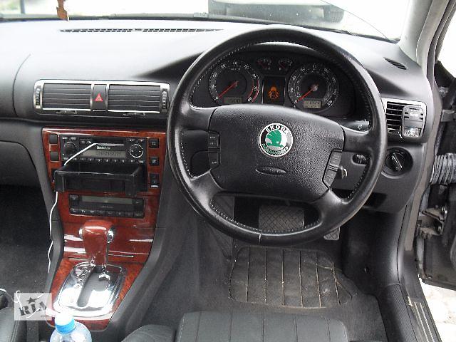 Б/у руль для седана Skoda SuperB 2003- объявление о продаже  в Львове
