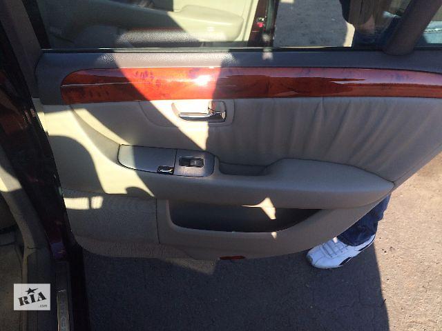 купить бу Б/у  салон коженный  бежевый. Lexus LS430 2002 в Одессе