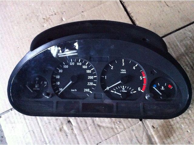 б/у Щиток приборов кпп/мех BMW 320 2.0 TDI (Е-46) 2001р/в- объявление о продаже  в Львове