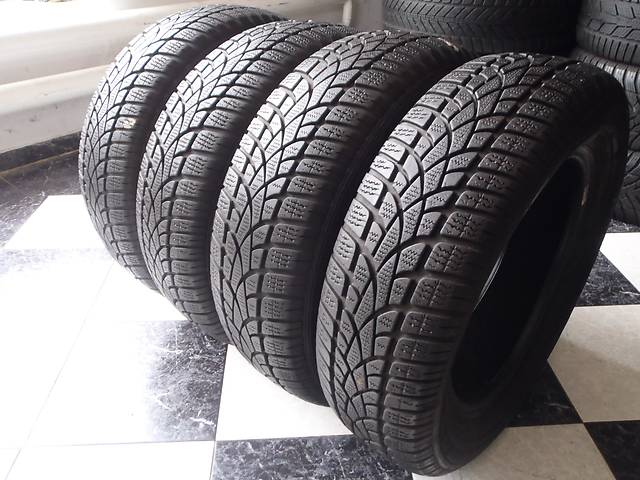 бу Б/у шины 185/65/R15 Dunlop Sp Winter Sport 3D 185/65/15 в Кременчуге